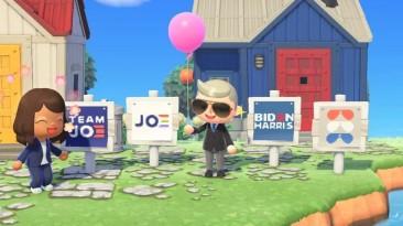 Кандидат в президенты США Джо Байден развернул предвыборную агитацию в Animal Crossing: New Horizons