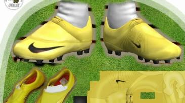 """PES 2009 """"Nike Mercurial Vapor V Yellow by el_gordito"""""""