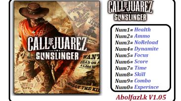 Call of Juarez: Gunslinger: Трейнер/Trainer (+10) [1.05] {Abolfazl.K}