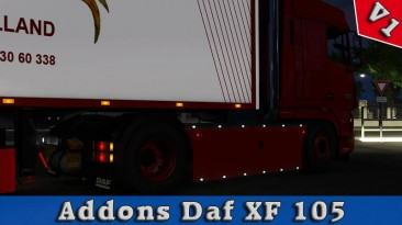 "Euro Truck Simulator 2 ""Addons Daf XF 105 v0.1"" (v1.34.x)"