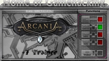 Arcania ~ Gothic 4: Трейнер/Trainer (+7) [1.1.0.1433] {sILeNt heLLsCrEAm / HoG}