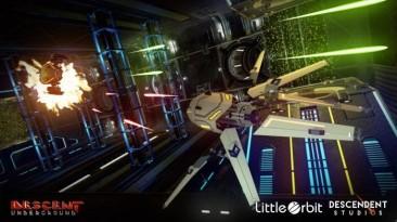 Приквел к легендарной Descent - Descent: Underground ожидается на консолях в начале 2019 года