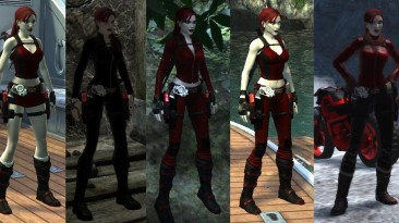 "Tomb Raider : Underworld ""RED AND BLACK"""