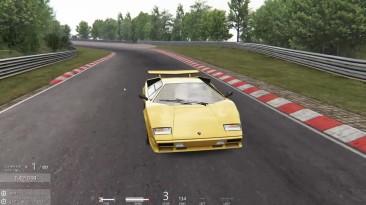 Lamborghini Countach Nordschleife Assetto Corsa