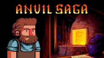 Геймплейный трейлер Anvil Saga: экономический симулятор управления кузнечной лавкой