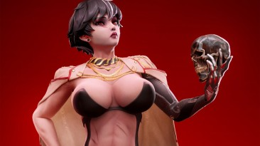 Дизайнер персонажей Subverse опубликовал концепт-арты Элизабет Блайт