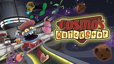Релизный трейлер Cosmo's Quickstop: симулятор управления заправочной станцией в космосе