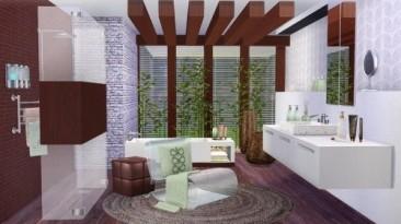 """Sims 4 """"Ванная комната Prime от SIMcredible!"""""""
