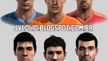 """PES 2012 """"Facepack by izzi"""""""