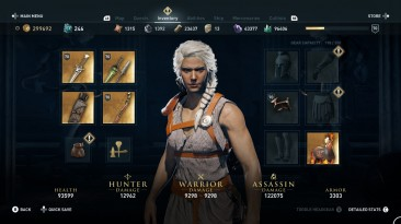 """Assassin's Creed: Odyssey """"Different colour hair for Kassandra"""""""