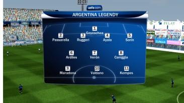 "FIFA 10 ""Легенды Аргентины"""