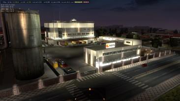 """Euro Truck Simulator 2 """"Новые Префабы Компаний Nbfc logistik ETS2 1.35.x"""""""