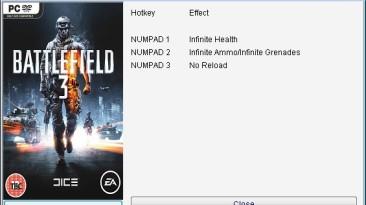 Battlefield 3: Трейнер/Trainer (+4) [All Versions] {24K/PlayGround.ru}