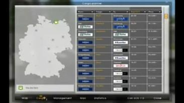 "German Truck Simulator ""Геймплей видео"""