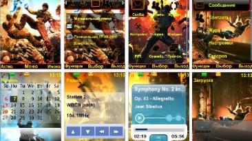 """Bulletstorm """"Тема для телефонов Nokia s40 240x320"""""""