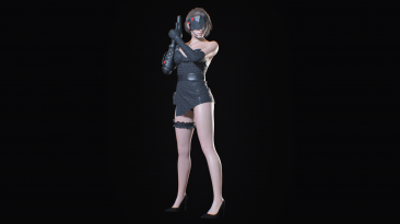 "Resident Evil 3 ""Техно Джилл"""