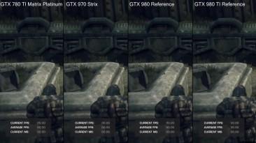 "Gears Of War ""Тест производительности Pc DX12 GTX 980 TI Vs GTX 980 Vs GTX 970 Vs GTX 780 TI"""