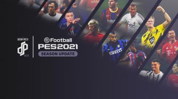 """PES 2021 """"Dream Patch 2.0 + Обновление 2.1"""""""