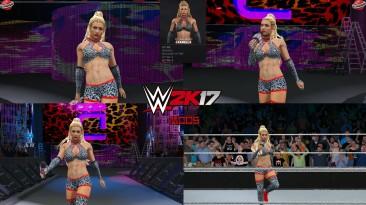 "WWE 2K17 ""Carmella TLC 2020 Наряд (Лицевая анимация) WWE 2K19 Порт мод"""