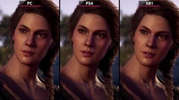 Сравнение графики и FPS в Assassin's Creed: Odyssey на PC, PS4 и Xbox One