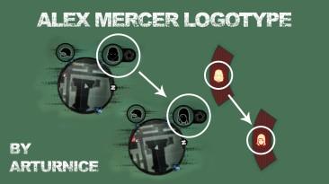 """Prototype 2 """"Alex Mercer Logotype"""""""