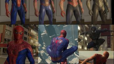 """The Amazing Spider-Man 2 """"Коллекция костюмов из фильмов HD"""""""