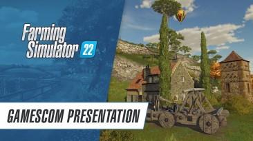 Почти 40 минут геймплея Farming Simulator 22