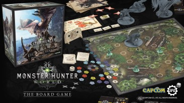 Настольная игра Monster Hunter World собрала 4 миллиона евро на Kickstarter