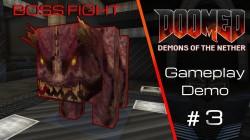 В Minecraft теперь можно сражаться с боссами из Doom