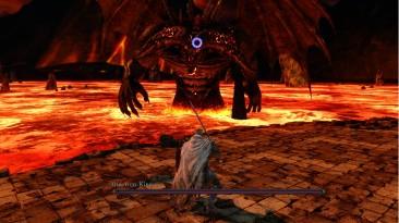"Dark Souls 2 ""Beta Style Boss HP Bar and Targetting Reticle"""