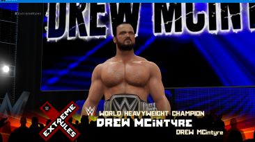 "WWE 2K16 ""Drew McIntyre 20 Наряд (Лицевая анимация) WWE 2K19 Порт мод"""