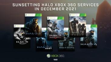 В следующем году Microsoft отключат сервера игр серии Halo 7-ого поколения консолей