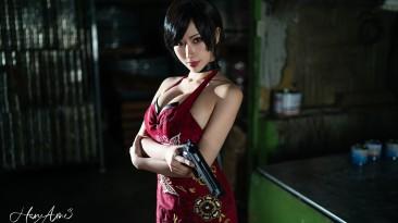 Косплей на Аду Вонг из Resident Evil 4