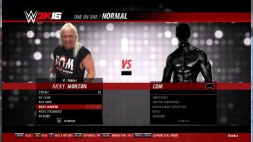 """WWE 2k16 """"Ricky Morton - порт из wwe 2k19"""""""