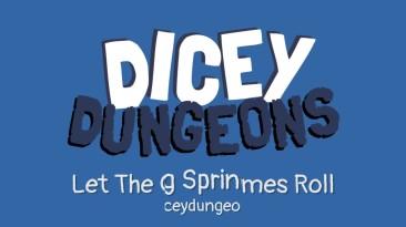Dicey Dungeons - трейлер карточный ролевого роглайка