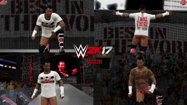 "WWE 2K17 ""CM Punk Custom Bulls Наряд WWE 2K19 Порт Мод"""