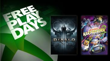 Бесплатные выходные на Xbox с Nickelodeon Kart Racers 2 и Diablo III для подписчиков Xbox