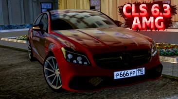 "City Car Driving ""Mercedes-Benz CLS 6.3 AMG 4Matic 2015 (v1.5.9 - 1.5.9.2)"""