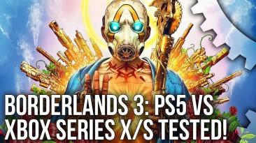 Специалисты сравнили Borderlands 3 на PlayStation 5 и Xbox Series X. Консоль Microsoft имеет определенные преимущества