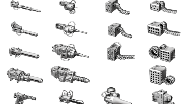 "BattleTech ""Оружие Звездной Лиги в игре (Star_League_Weapon_v.0.2.1)"""