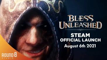 Bless Unleashed тизерит запуск игры в Steam коротким трейлером