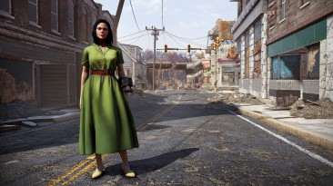 Fallout 76: На этой неделе в Атомной лавке можно бесплатно получить зеленое платье