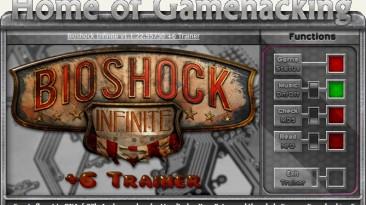 BioShock Infinite: Трейнер/Trainer (+6) [1.1.25.5165] {iNvIcTUs oRCuS / HoG}