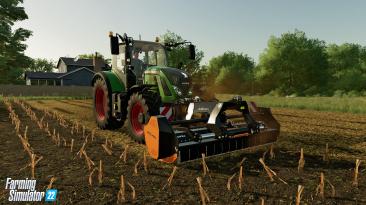В Farming Simulator 22 вас ждут новые системы работы с землей: мульчирование, сбор камня и перекатка почвы