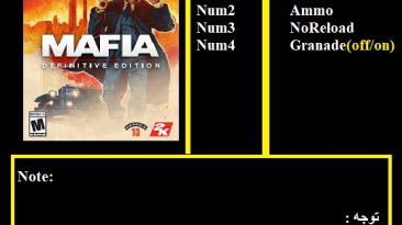 Mafia: Definitive Edition: Трейнер/Trainer (+5) [1.0.1/CPY] {Abolfazl.k}