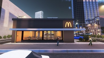 "Cities Skylines ""Ресторан McDonald's"""