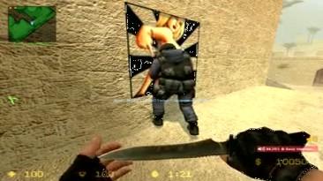 """Counter-Strike: Source """"Прикольный случай в контре))"""""""