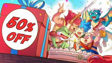 FDG Entertainment празднует первую годовщину Monster Boy and the Cursed Kingdom