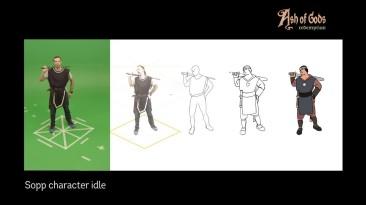 Ash of Gods: Redemption - анимация