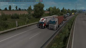 """Euro Truck Simulator 2 """"D3S Mercedes Antos 12 r1.39. beta"""""""